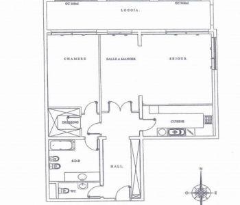 Monaco / Memmo center / 2 stanze