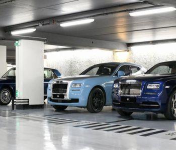Emplacement de parking La Rousse - Saint Roman