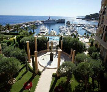 Overlooking the Marina