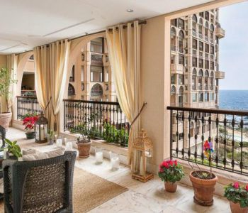 "4 rooms apartment ""Terrasses du Port""-Fontvieille"