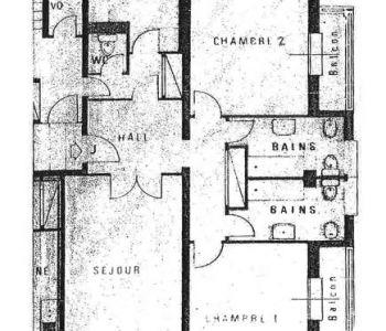 Refurbished 2 bedroom apartment