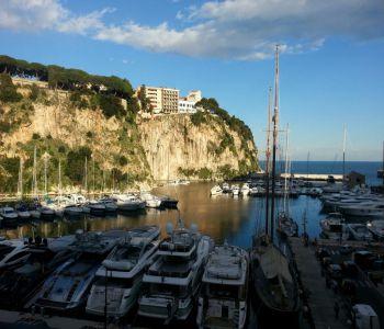 Marina de Fontvieille - Vue mer