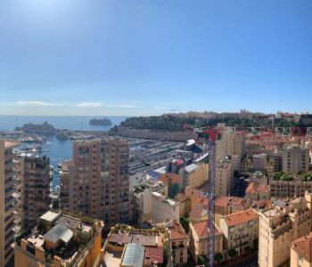 Appartement surplombant - le port de Monaco
