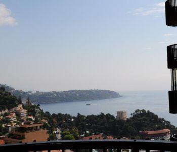 superb apartment with sea & Cap Martin views