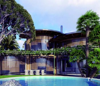 """Luxury villa with private pool """"on the water edge"""""""