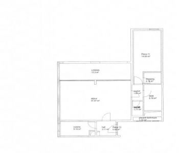 2-room apartment - Marina view