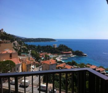 Lovely 2-room apartment entirely furnished - sea view