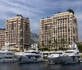 Office space with charming garden view - Fontvieille