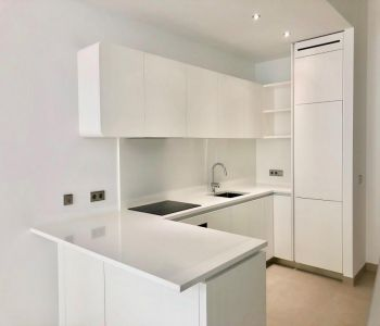 Luxurious, completely new, 1 bedroom duplex flat for sale with parking
