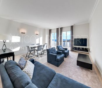 2 bedroom apartment in the Auteuil with sea view