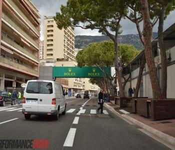Restaurant sur le port de Monaco