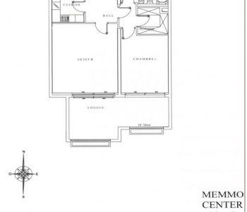 2 pièces au Memmo Center