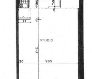 Studio à louer sur le port de Fontvielle