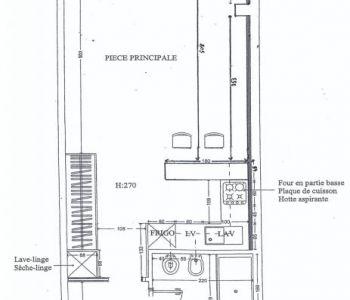 Studio à louer sur le port de Fontvieille