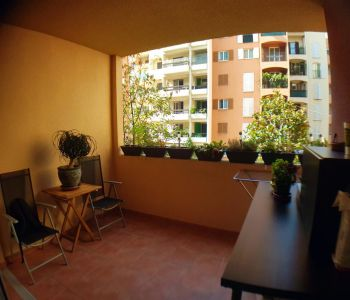 Large studio in Fontvieille
