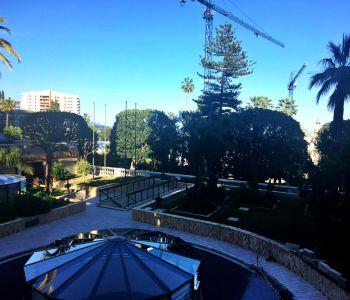 PARK PALACE-Monolocale ristrutturato con gradevole vista sul giardino