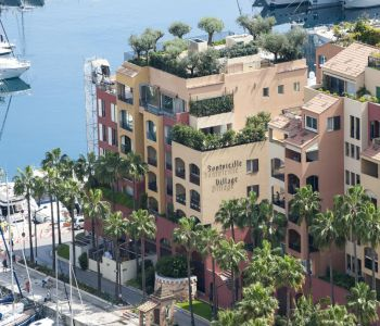 FONTVIEILLE - 4 BEDROOMS FLAT WITH PORT VIEW