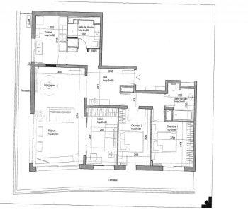 Jardin Exotique - 2 Bedrooms corner flat fully renovated