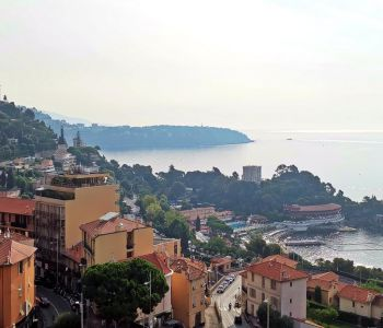 PARC SAINT ROMAN, 2 bedrooms flat - Dual usage, with view of the Cap Martin